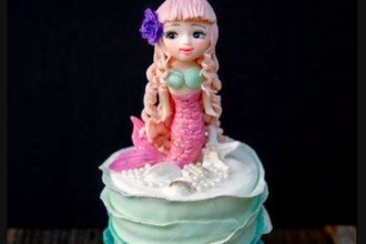 Little Mermaid Cake For Kids