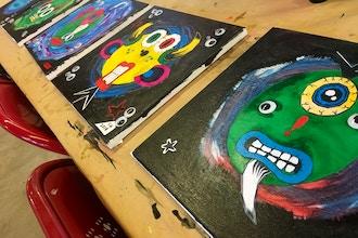 Monster Maker Cut-paper Collage Workshop!