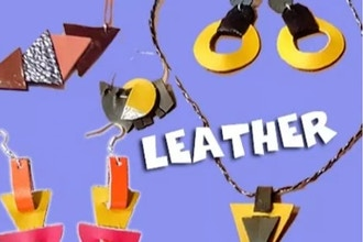 Level 1 After-School Jewelry Design - Leather (Ages 7+)
