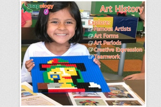 Snapology Brick Art & Design Lab (Ages 4-10)