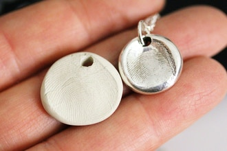 Children's Make Your Own Fingerprint Pendant Workshop