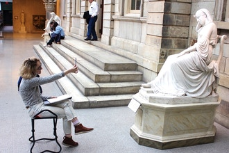 Learn to Draw at the Met Museum