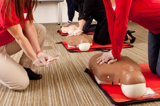 Adult & Pediatric FA, CPR & AED (Online+Classroom)