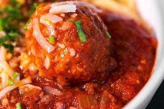 Meatballs, Sauce & Focaccia...with Wine Tasting