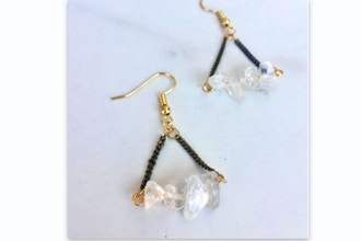 Jewelry & Geology Earring Making With Crystals
