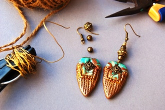Jewelry Making: Design, Build, Construct Earrings