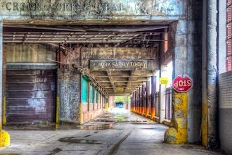 Bygone Industrial Buildings