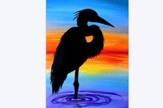 Beach Heron (Live Online)