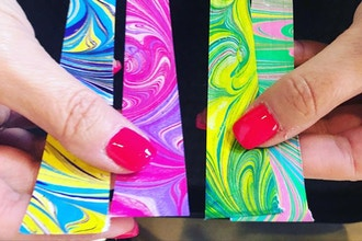 Marbled Paper Art Beads & Jewelry Making Workshop