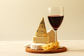 French Wine and Cheese with Trader Joe's products