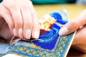 Live Virtual Embroidery/Beading Class