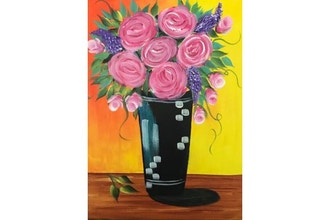 Virtual Mother's Day Paint and Sip