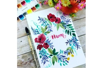 Virtual Mother's Day Card Making