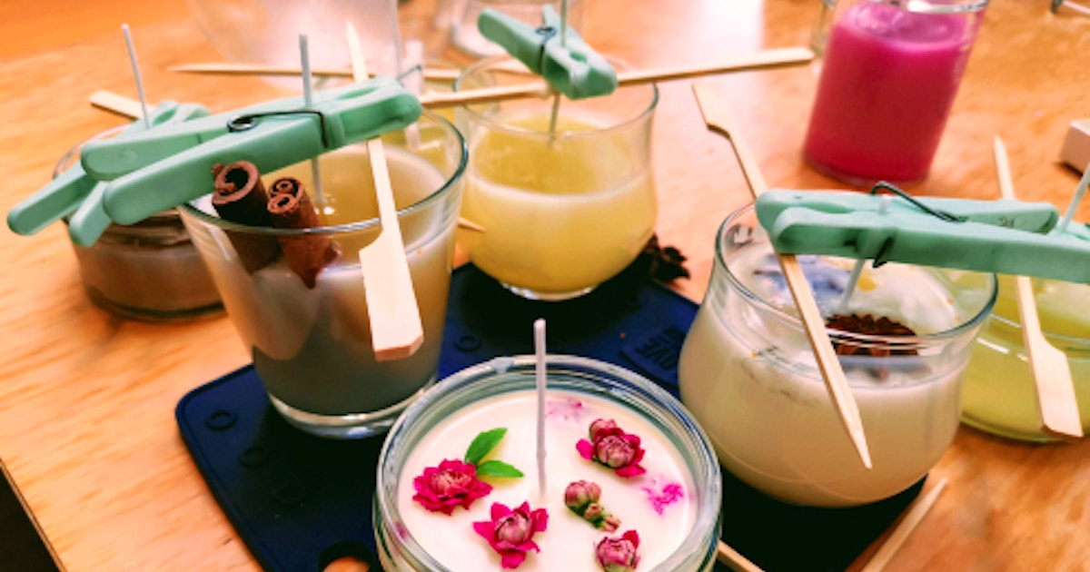 Virtual Candle Making - Candle Making Classes New York | CourseHorse - Jade  Scarlett