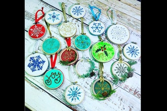 Virtual Embroidered Ornaments