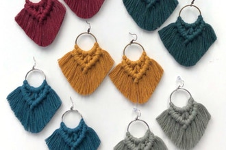 Virtual Macrame Accessories for Beginners