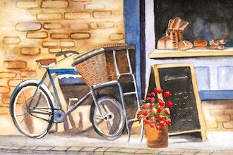 Intermediate Watercolor Landscapes - Paint a Scene