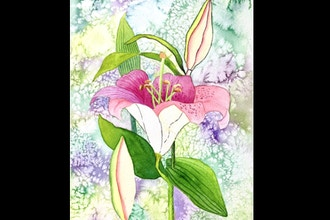 Virtual Intermediate Watercolor Florals