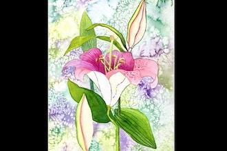 Virtual Intermediate Watercolor Florals