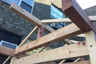 Japanese Timber Frame Workshop Woodworking Classes New York