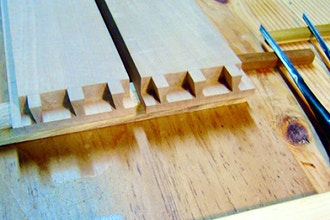 Dovetails with Japanese Tools