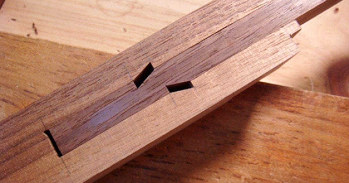 Japanese Joinery Shachi Joint Furniture Classes New