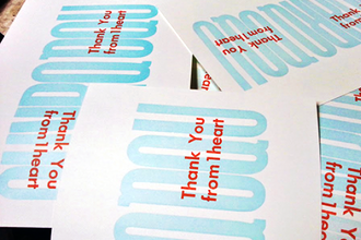 intro to letterpress greeting cards - Letterpress Greeting Cards