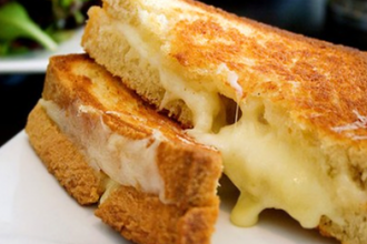 Grilled Cheese Making