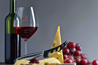 Red, Red Wine and Cheese