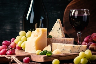 New York VS California: Wine and Cheese