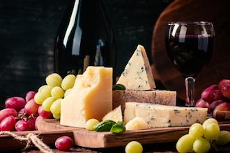 New York VS California: Wine & Cheese