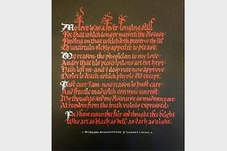 The Romance of Writing on Dark Paper