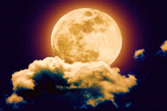A Full Pink Moon Circle with Drumming