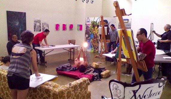 Quinn's Figure Drawing Class - Art Schools Los Angeles