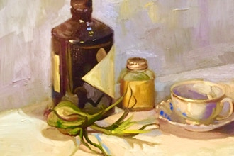 Luminous Still Life Painting