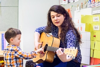 Music & Songs Workshops (Ages 2 & 3)