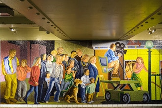 NYC Subways Series: The Art Underground Old and New
