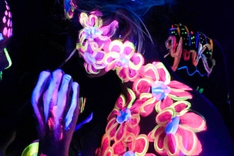 Paint in the Dark™: UV Body Painting for Couples