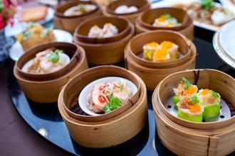 Asian Dumplings and Sushi