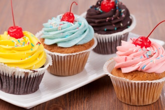 Frosted & Filled Cupcakes