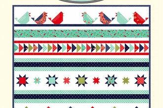 Song Bird Row Quilt