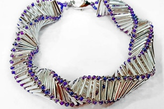 Twisted Bugles Bracelet