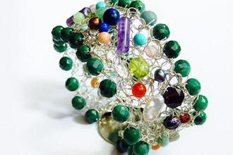 Wire Crochet Bracelet