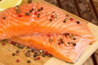 Glazed: A Perfect Salmon Lunch