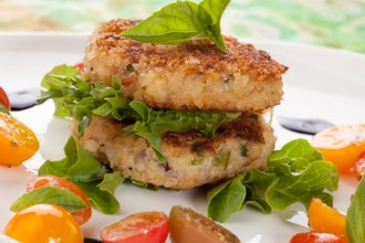 Salmon and Crab Cakes