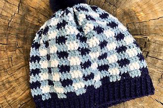 Crochet Plaid Hat or Scarf Workshop - Crochet Classes Los Angeles ... e22dce773db