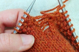 Beginning Knitting Wednesdays