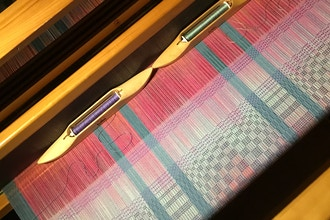 Weaving Beginners On 4-Shaft Looms (Westmont)
