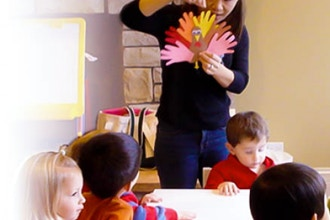 Camp: Mom, Pop & Tots Mandarin Class (6 mos-2 yrs)
