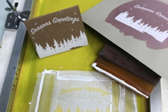 Holiday Screenprinting Workshop